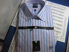 NWT $65 CHAPS  COTTON NON-IRON DRESS SHIRT LONG SLEEVE  Shirt Classic Fit