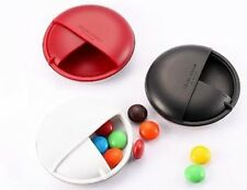 GEORG JENSEN Pocket Pill Case Danish Design Red,Black,White,Black/White Pair