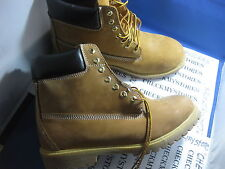 NIB  NEW  MOUNTAIN CREEK  CASUAL/HIKING/WORK  BOOTS/ SHOES WHEAT LEATHER