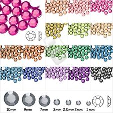 1000Pcs Crystal Round Flat Back Rhinestones Craft DIY Nail/Phone Arts 4/5/6/8mm