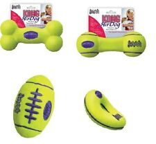 Kong AIR DOG Non-Abrasive Tennis Squeak & Fetch Bouncy Dog Toy ALL SMALL STYLES