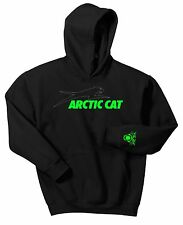 ARCTIC CAT HOODIE SWEAT SHIRT UTV ATV SLED PROWLER SIDE BY SIDE SNOW MOBILE QUAD