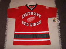 NHL Detroit Red Wings Nashville Predators Youth Jersey Shirt Sz 10/12, 14/16 NWT