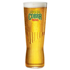 Personalised Engraved New Shape 1 pint Cobra Extra Smooth Beer Glass & Gift Box
