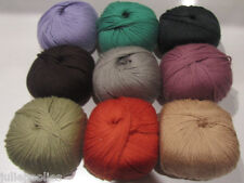 msrp: $15.95 Karabella Margrite Merino Cashmere Yarn - 9 colors