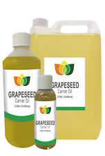 GRAPESEED OIL - Cold Pressed FREE P&P (Massage Carrier Base Aromatherapy)