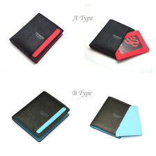 New Mens Wallet KOREA -234 Leather Colorful Fashion Bifold Holder Purse So Hot ★