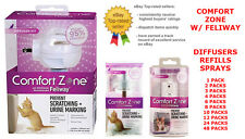 COMFORT ZONE WITH FELIWAY PRODUCTS. DIFFUSERS & REFILLS & SPRAYS.