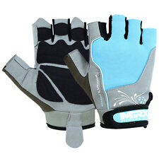 Ladies Weight Lifting Gloves Gym Training Fitness Glove MRX Women's Sky Blue