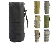 Airsoft Tactical Military MOLLE 1000D Water Bottle Pouch Bag Holder Mesh Bottom
