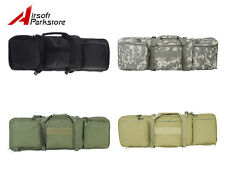 Airsoft Tactical Military Dual AEG Rifle Gun Carrying Case Bag Backpack 85CM