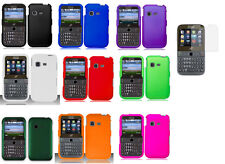 Screen Protector + Faceplate Hard Cover Phone Case for Samsung S390G SGH-S390G