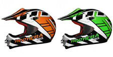 Casque cross GPX Panthera Adulte moto enduro cross scooter quad dirt Vert Orange