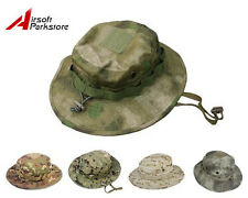 Tactical Military Hunting Fishing Bucket Hat Battle Rip Boonie Hat Cap 5 Colors