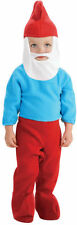 Toddler Infant Boys Papa Smurf Moustache The Smurfs Beard Costume Romper NEW