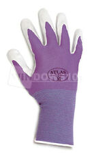 1 Pair Purple Atlas Showa 370 Nitrile Gloves Garden Auto Work Paint Landscaping