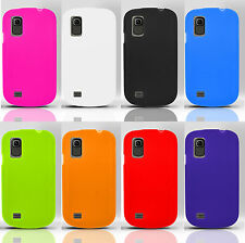 AT&T Avail 2 GoPhone Rubber SILICONE Soft Gel Skin Case Phone Cover Accessory