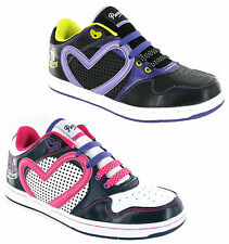 New Girls Pineapple Jumpin Casual Skate Style Dance Trainers Shoes Size 13-5