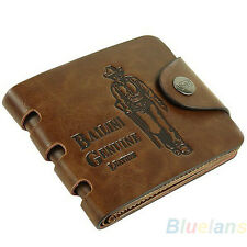 Fashion Mens Leather Wallet Purse Card Money Card Holder Clutch Purse BD5U