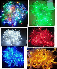 Color Changing 10M /100 Led String Fairy Light  tail plugs Christmas Tree