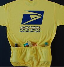 USPS PRO CYCLING TEAM CYCLE TEE JERSEY W/POCKETS CYCLE-T 3 COLORS AVAILABLE ***
