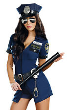 Sexy Womens Police Officer Cop Halloween Costume