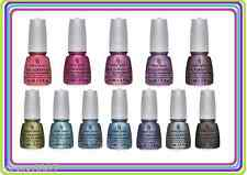New CHINA GLAZE HOLOGLAM HOLOGRAPHIC Nail Polish U Choose Color! FULL SIZE .5 oz