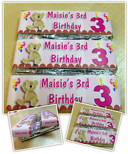 Personalised KitKat Chocolate Birthday Party Favours - Wrappers or Pre-made! N3