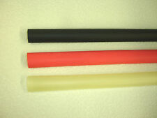 "1/2"" ID 3:1 Adhesive Lined Heat Shrink Tubing - choose color and length"
