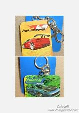 Hot Wheels Red OR Green Car Key Chain / Key Fob NWT