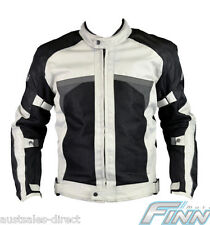 Mens Adventure Motorcycle Jacket Waterproof Inner CE Armour Airflow Mesh Touring