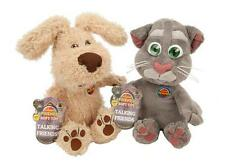 "10"" TALKING FRIENDS BEN TOM PLUSH SOFT TOY PRESS FOR SOUNDS FROM THE APP BNWT"