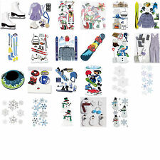 Jolee's WINTER SNOW THEMED Scrapbook Stickers (you choose style) at 50% off