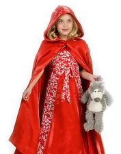 Kids Little Red Riding Hood Outfit Girls Halloween Costume
