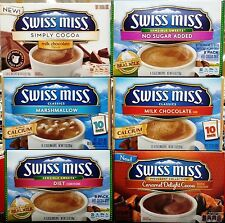 Swiss Miss Hot Chocolate Individual Cocoa Powdered Drink Mix Packets ~ Pick One