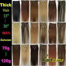 "15""18""20""22""24""26""30 100% Remy Real Clip In Long Human Hair Extentions WHOLESALE"