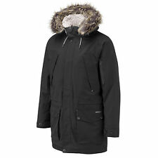 Craghoppers Mayman Mens Military Long Winter Coat Jacket Hooded Parka Overcoat