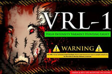 Varmint Night Hunting Light VRL-1  250 Yard Long Range High Intensity LED