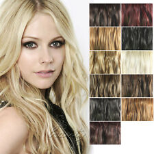 Christmas Hair Extension One Piece Synthetic 5 Clips In 3/4 full head