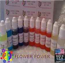 18ml FLOWER POWER ASST FLAVORS E JUICE E LIQUID E-Vaporizer Vape Juice 0mg
