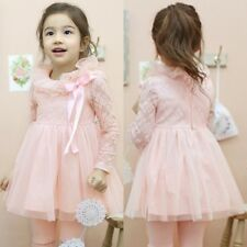 Girls Kids Toddlers Quality Lace Tulle Multi-Layer Dress Without Bow Brooch D451
