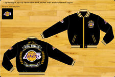 Los Angeles Lakers NBA Lightweight Commemorative Reversible Twill Jacket S-4XL