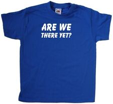 Are We There Yet Kids T-Shirt