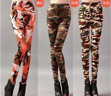 colorful Women Punk Funky Sexy Leggings Stretchy Tights Pencil Skinny Pants pant