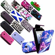 New Printed PU Leather Flip Case Cover For Samsung Galaxy 5 i5500 Europa+Stylus