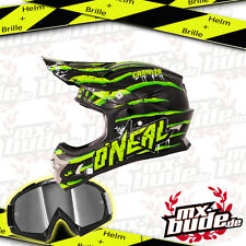 ONEAL 2014 Motocross Helm 3series Crawler + MX-Bude MX-2 Brille DH FR Enduro MX