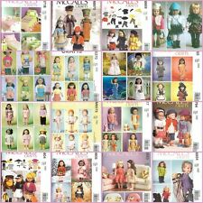 "New McCalls 18"" Doll Clothes Accessories Sewing Pattern Fits 18 in American Girl"