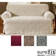 Scroll T-cushion Loveseat Slipcover