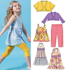 McCalls Sewing Pattern 6549 Children's Casual Wear - Choice of Sizes