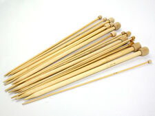 Budget Bamboo Knitting Needles - Choice of Sizes and Lengths